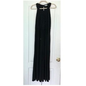 Calvin Klein Black Maxi Dress